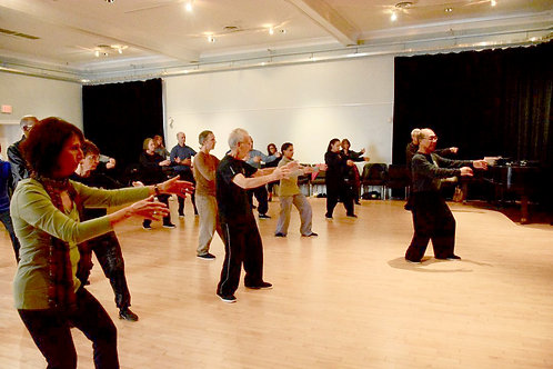 Tai Chi I For Beginners 6:00-7:30 pm