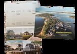 City Island Views ready to mail Postcard Book