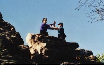 Lynne Push Hands on Split Rock.jpg