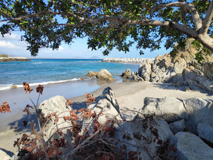 Hiddenn beaches at Chacahua