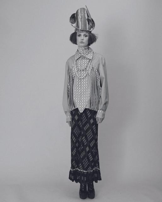 """OH MADAME!"" story by Photography MARTIN MAE Styling MARILLA RIZZI Models LENA-MARIE ZOCHMEISTE and GRACE WARD-THOMAS Hmua BETH McKENDRICK"