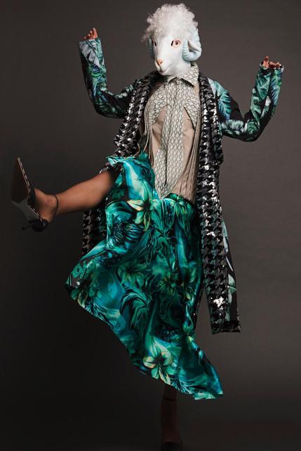 """FANTASIA 2000"" story by Photog raphy TAREK MOUKADDEM Styling MARILLA RIZZI Models ASYA, ZENA FARHAT and JAAD KHALED HMUA IVANNA"