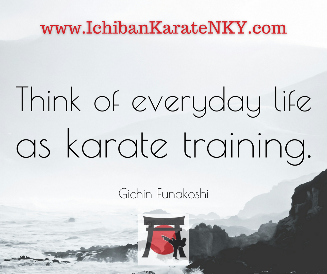Everyday Life as Karate Training post.pn