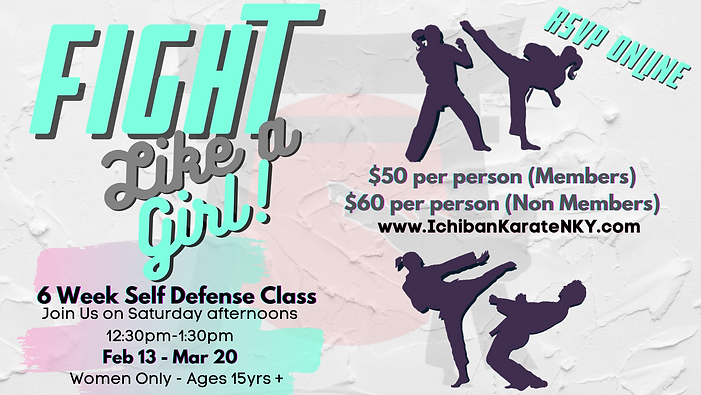 FB Cover Fight Like a Girl 6 Wk Self Def