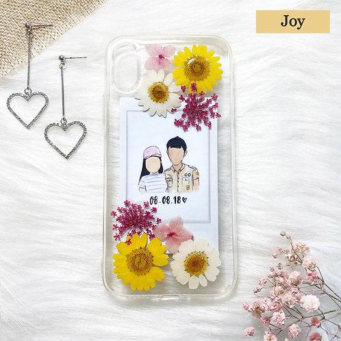 Joy Phone Case with Polaroid