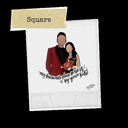 Portrait Film/Polaroid (Square)