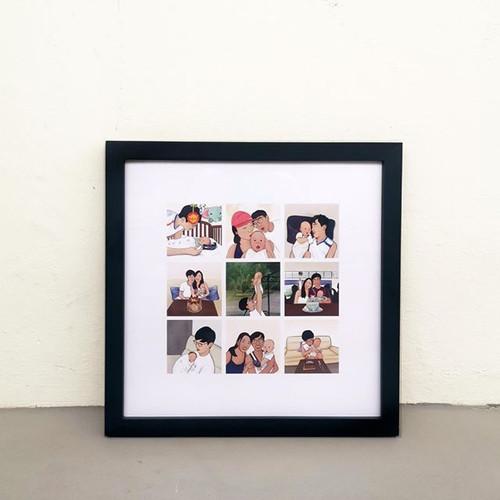 Family Collage Frame