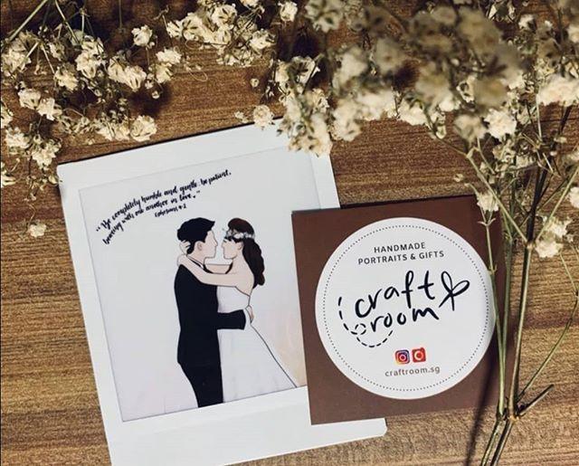 Couple Polaroid Film Wedding Keepsake