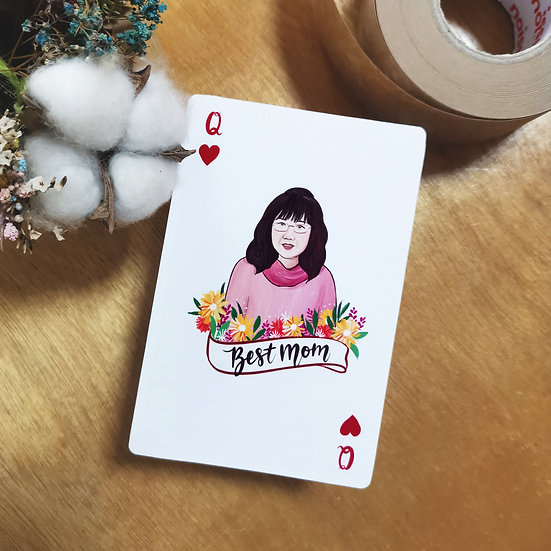 Mother's Day Queens of Heart Card
