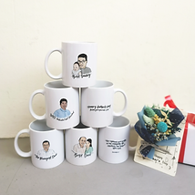 Portrait mugs