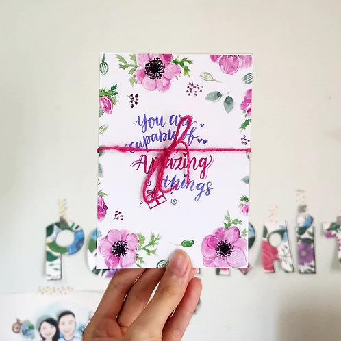 Affirmation Bloom Cards