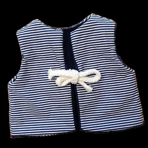 Veston bébé réversible / Marinière