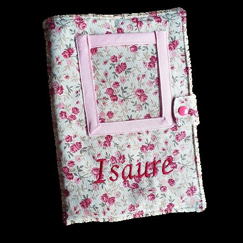 Protège carnet de santé / Fleurs