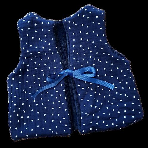 Veston bébé réversible / Bleu Marine