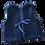 Thumbnail: Veston bébé réversible / Bleu Marine