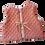 Thumbnail: Veston bébé réversible / Corail