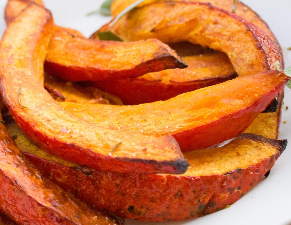 Fried acorn squash