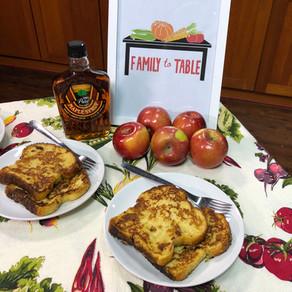 Applesauce French Toast