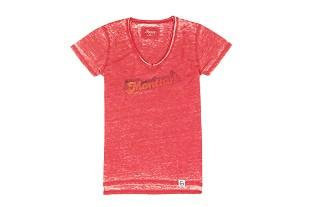 Women's Short Sleeve Red