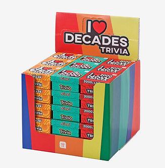Decades Trivia