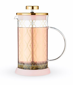 Riley Mini Souk Gold Glass Tea Press