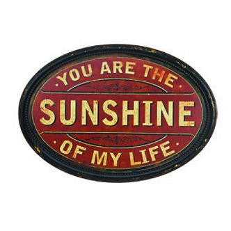 Sunshine Tin Sign