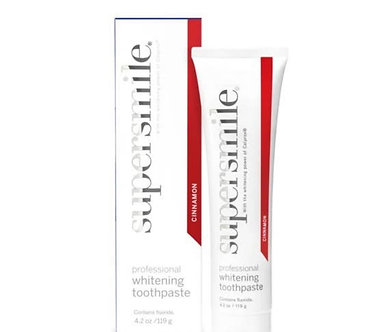 Supersmile Cinnamon Whitening Toothpaste