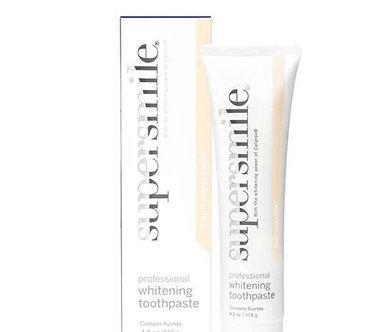 Supersmile Tahitian Vanilla Mint Whitening Toothpaste