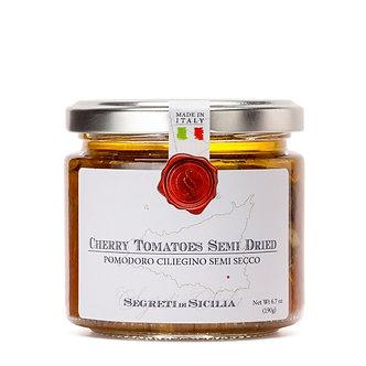 Semi-Dried Cherry Tomatoes in EVO