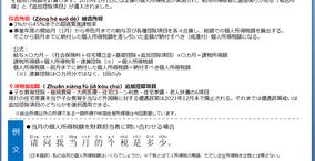 中国会計・税務講座Vol.7【個人所得税】