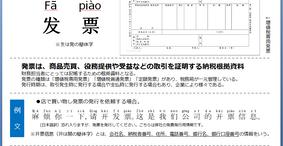 中国会計・税務講座Vol.1【発票】