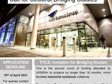 Call for Sectoral-Bridging Studies