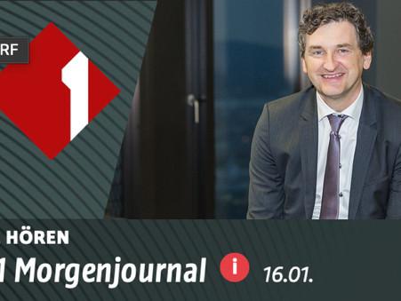 """Ö1 Morgenjournal: Interview mit Martin Tiani über """"Eintrittstestungen"""""""