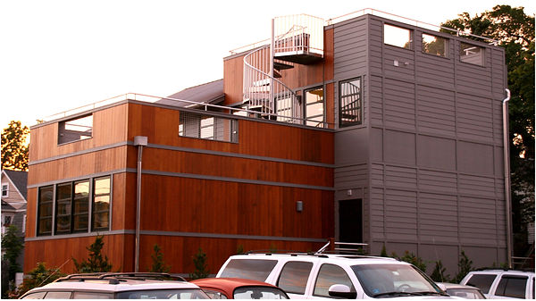 green building, leed certified, jamestown ri, epi office, rooftop garden, sustainable buildings