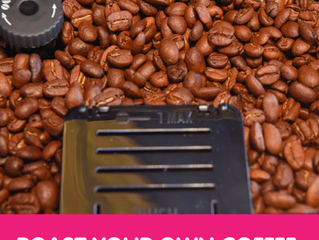 *NEW* Visitors to JHB Coffee & Chocolate get to ROAST THEIR OWN COFFEE BEANS!!