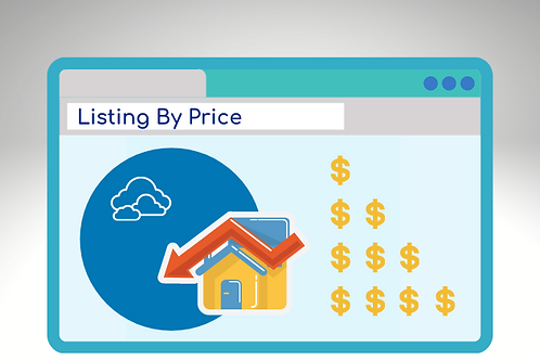 Listing Page by Price