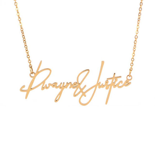 Forever Young - Couples Necklace