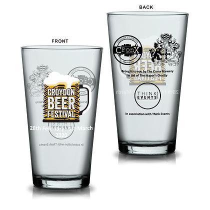 Beer Festival Pint Glass
