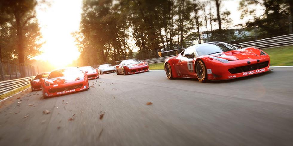 Ferrari Testfahren, Event in Zug