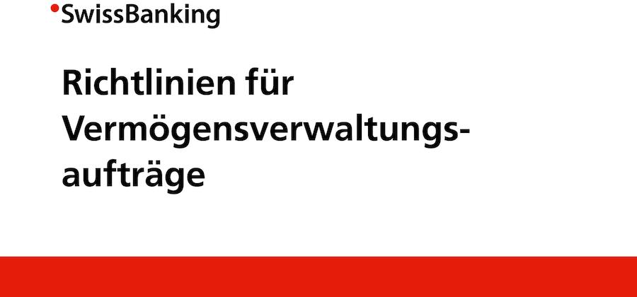 NEUE RICHTLINIEN FÜR VV-MANDATE