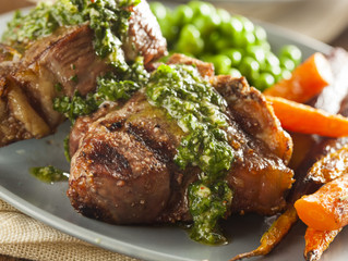 Steak + Chimichurri Sauce