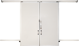Дверь холодильная откатная REFRA
