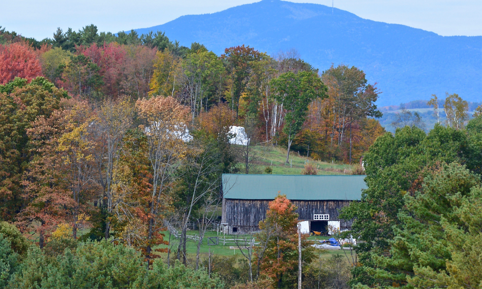 View of Mt. Ascutney, Parker Hill Rd