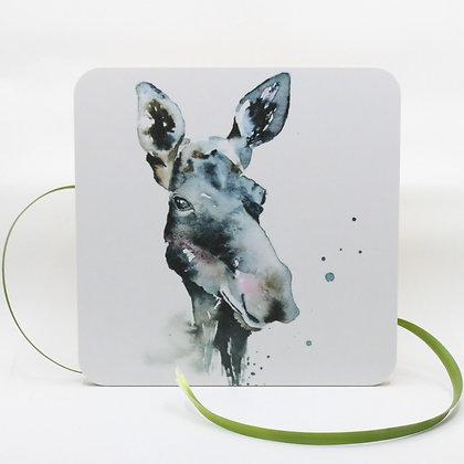 Pannenonderzetter / Serveerplank - Moose