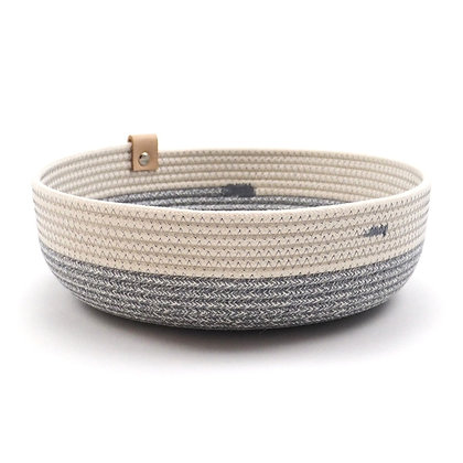Opbergmand - Laag - Pastel Grey