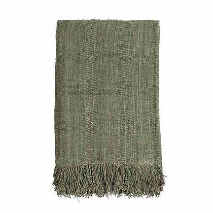 Plaid - Waste Cotton - Groen