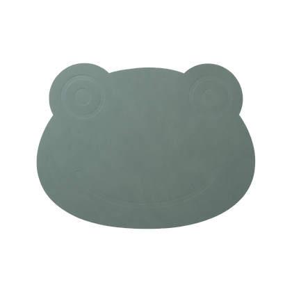 Placemat - Frog - Pastel Green