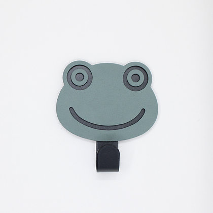 Wandhaak - Frog - Pastel Green