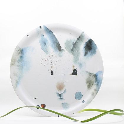 Dienblad - White Hare