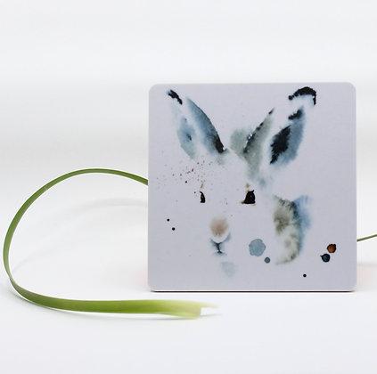 Onderzetter - White Hare - Set van 2